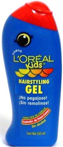 L'Oreal Kids Hair Styling Gel 265ml