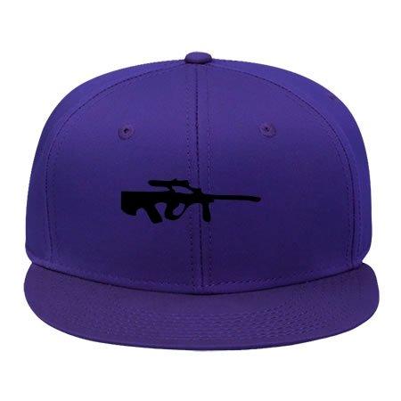 Fashion Stg77 Purple Snapback Cap Hat Male/female Hip Hop Cap Cotton