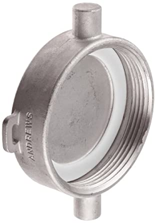 "Dixon 300-SFC-SS Stainless Steel Tank Truck Fitting, Fusible Pipe Cap, 3"" NPSM Female"