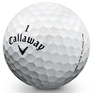 Callaway HEX Black Tour Mint Refinished Golf Balls from Golf Balls Only