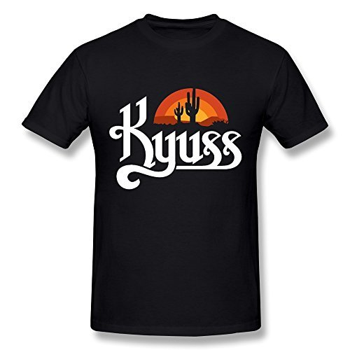 JIAYUHUA Men's Kyuss Band Logo T-shirt