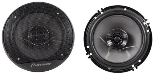 "Brand New Pioneer Ts-G1644R 6.5"" 500 Watt Peak / 80 Watt Rms 2-Way 4 Ohm Coaxial Car Stereo Speakers With 1-3/16"" Pei Balanced Dome Tweeter"