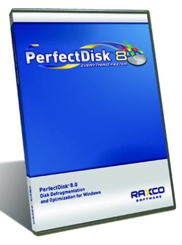 Perfectdisk 8 Pro Single Lic Defrag for Win XP/W2K Os By Raxco