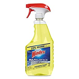 Windex CB801373 DVOCT Multi-Surface Vinegar Cleaner, 26 oz. Trigger Spray Bottle (Pack of 8)