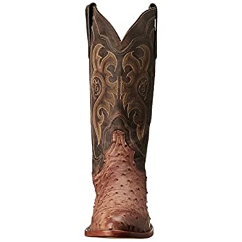 Tony Lama Boots Men's Vintage Ostrich 8965 Western Boot
