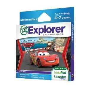 Awesome Leapfrog Explorer Learning Game: Disney-Pixar Cars 2 (Works With Leappad & Leapster) Toy / Game / Play / Child / Kid