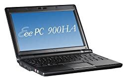 ASUS Eee PC 900HA 8.9-Inch Netbook (1.6 GHz Intel ATOM N270 Processor, 1 GB RAM, 160 GB Hard Drive, 10 GB Eee Storage, XP Home) Black