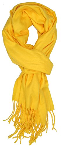 ted-and-jack-a-classic-staple-solid-cashmere-feel-scarf-in-bright-yellow