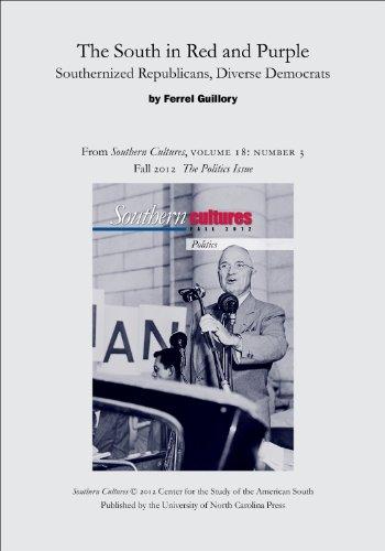 Ferrel Guillory, M.S. Publication