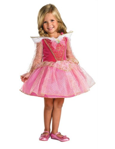 Aurora Ballerina Toddler 4-6X Kids Girls Costume