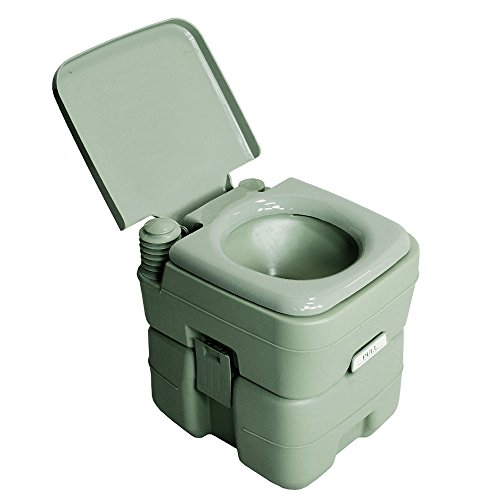 Portable Toilet Potty Outdoor Camping Boat Rv Waste Tank