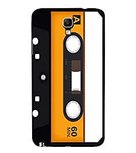 Vintage Yellow Cassette 3D Hard Polycarbonate Designer Back Case Cover for Samsung Galaxy Note 3 Neo N7505