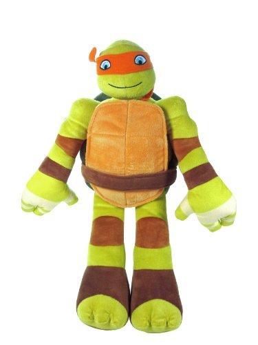 Ninja Turtle Stuffed Animal (Throw Pillow) Michelangelo Children, Kids, Game front-969637