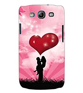ColourCraft Valentine Love Couple Back Case Cover for SAMSUNG GALAXY S3 I9300