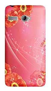 Wow Premium Design Back Cover Case For Intex Aqua 3G Pro