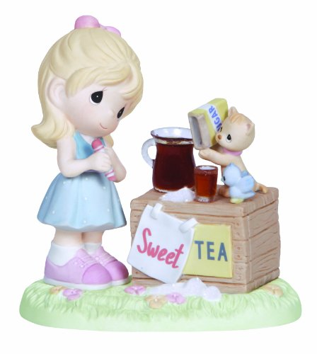 Precious Moments Figurine, Girl With Sweet Tea Stand