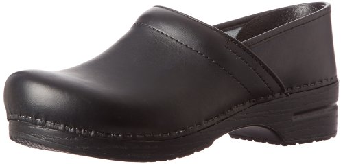 Dansko Men'S Professional Box Leather Clog,Black,44 Eu (10.5-11 M Us) front-519184