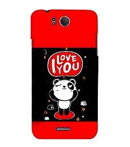 EPICCASE Cute Panda Mobile Back Case Cover For InFocus M530 (Designer Case)