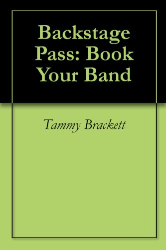 Backstage Pass: Book Your Band
