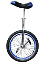 "Fantasycart 16"" Unicycle Cycling in & Out Door Chrome Colored with Skidproof Tire Thanksgiving Christmas"