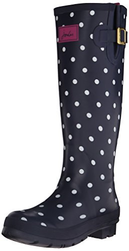 Tom Joule Welly Print, Damen Stiefel, Blau (NAVSPOT), 40/41 EU (7 UK)
