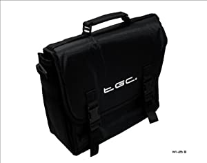 New Black Messenger Style Carry Case Bag for Acer Iconia Tab A500 Tablet & Cover