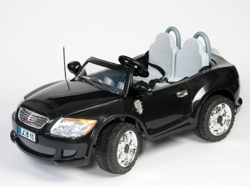 GT500 12V BATTERY & 2 ENGINE POWER WITH MP3 KIDS RIDE ON CAR 2 SEAT W/ CHROME WHEELS (COMES IN BLACK,GREY OR RED- COLOR SENT AT RANDOM)- WITH PARENTS REMOTE CONTROL FOR YOUNGER CHILDREN