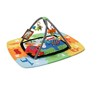 Infantino Infant and Toddler Activity Gym and Foam Mat