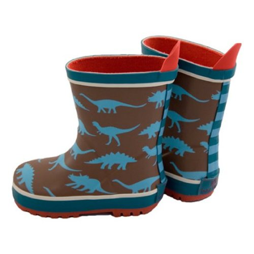 Toby Tiger Wellies Dinosaurs Booties