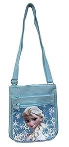 Disney Frozen Elsa Blue Adjustable Strap Messenger Shoulder Cross Purse Bag from Disney