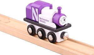 Buy NCAA Northwestern Wildcats College Team Train Toy by College Team Trains