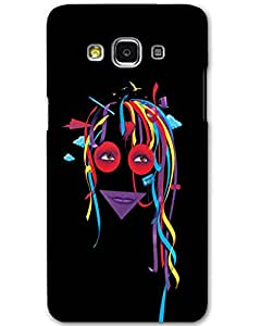 Hugo Samsung Galaxy A5 Back Cover Hard Case Printed Designer Multicolour