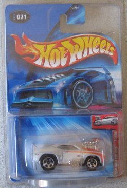 Hot Wheels 2004 First Editions Tooned Camaro z28 WHITE 71/100 Kmart Day Exclusive - 1