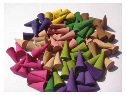 Incense Cones Mixed Variety of Scents (Pack of 30 Cones) Thailand Product (Variety Incense Cones compare prices)