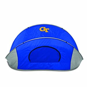 NCAA Georgia Tech Yellow Jackets Manta Portable Pop-Up Sun Wind Shelter by Picnic Time
