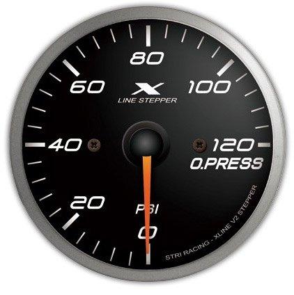 Auto Meter 3423 2-5//8 0-150 PSI Mechanical Oil Pressure Gauge