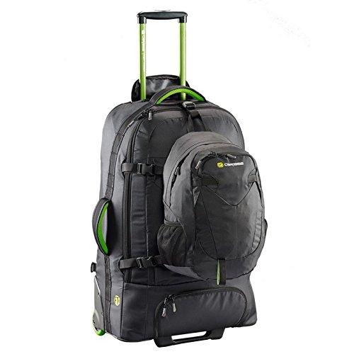 caribee-fast-track-85-viaggio-confezione-combinazione-borsa-trolley-85l-zaino-con-daypack-staccabile