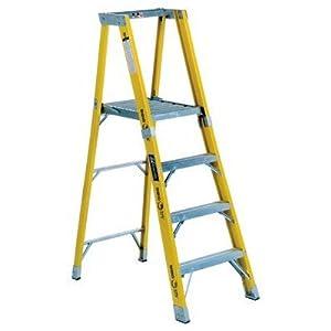 Louisville Ladder 6' FP1100HD Series Rhino Platform Step Ladder