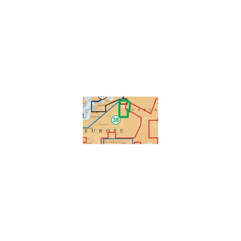 Navionics XL9 38XG Moscow Area SD Card on PopScreen