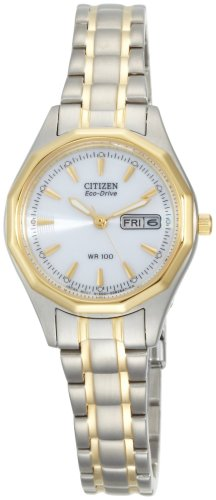 Citizen Women's EW3144-51A Eco-Drive Sport Two-Tone Watch