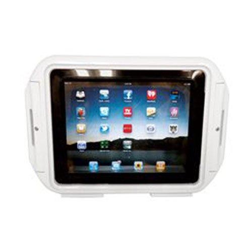 お風呂・レジャーに最適 iPad・iPad2用 防水ケース(ホワイト) Waterproof Protective Case for iPad・iPad2