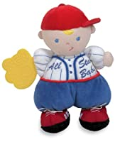 Kids Preferred Asthma and Allergy Friendly Baseball Rattle Teether Pal from Kids Preferred