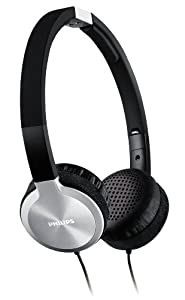 Philips SHL9450/10 Headband Headphones - Black/Aluminium