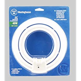 Westinghouse Lighting Corp #37340 40w 2c Fluo Circ Lamp