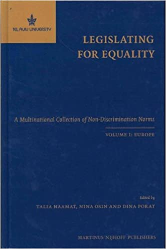 Legislating for Equality: A Multinational Collection of Non-Discrimination Norms: Europe