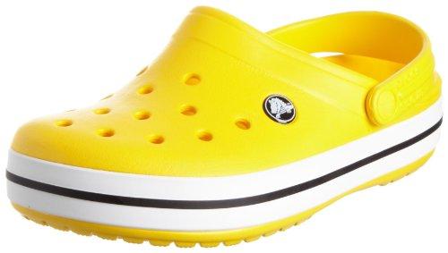 Crocs Unisex Crocband Clog Yellow 11016-730-008 8 UK