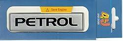 Epoxy Sticker - Petrol Silver