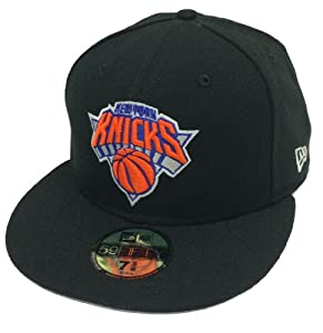 New Era 59Fifty Playoffs New York Knicks Black Fitted Cap by New Era