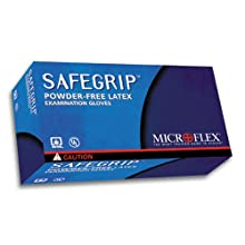 Microflex SG375S SafeGrip Powder Free Latex Glove Size Small (Box of 50)
