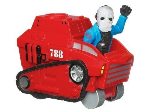GI Joe Rapid Rollers Tank & Cobra Driver Pull Back Go - 1